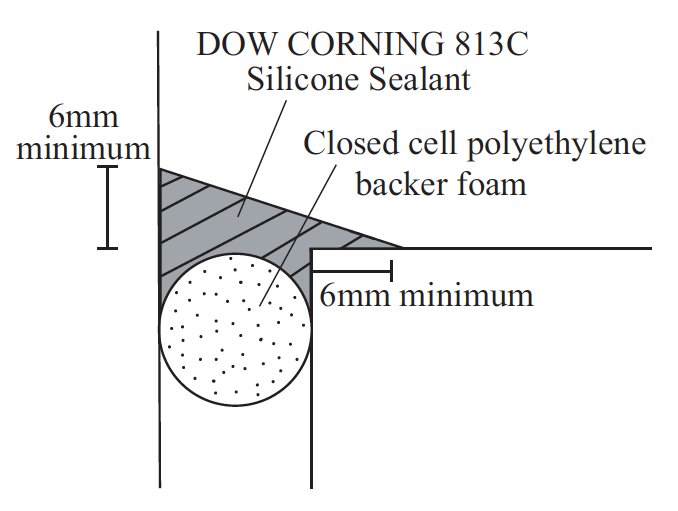 DOW CORNING ® 813C - Fillet Joint | a.b.e.® Construction Chemicals