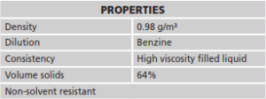 abe Construction Chemicals - autokote - properties