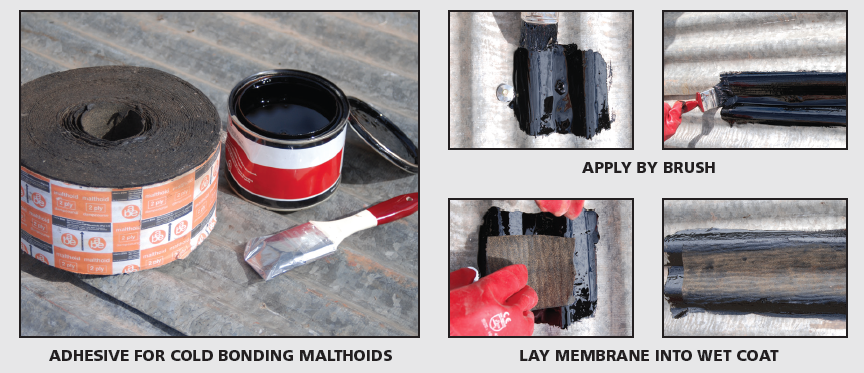 abe Construction Chemicals DIY bitugrip applications